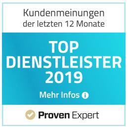 Auszeichnung TOP Dienstleister 2018