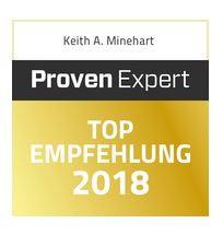 Auszeichnung TOP Empfehlung 2018